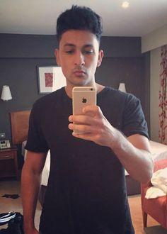 Zack Knight in an Instagram selfie in August 2016...