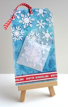 12 Tags of Christmas with a Feminine Twist by Stampin Sue, via Flickr