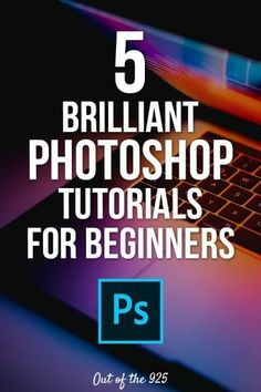 5 Brilliant Photoshop Tutorials for Beginners. Adobe Photoshop is a great tool for designing Social media graphics. It can be a challenge at first, but these 5 top tips and tutorials will show you how to use Photoshop and how to create awesome images and Photoshop Design, Photoshop Tutorial, Funcionalidades Do Photoshop, Effects Photoshop, Photoshop For Photographers, Photoshop Lessons, Adobe Photoshop Elements, Photoshop Editing Tutorials, Photoshop Projects