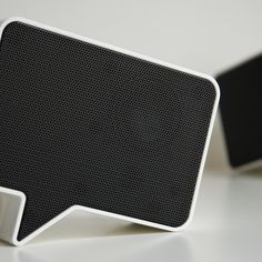 "Speak-er  by the. //    As Engadget puts it, these are ""the most awesome set of desk speakers this planet has ever known"""