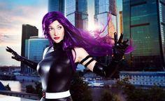 Extraordinary Psylocke and Ms. Marvel Cosplay