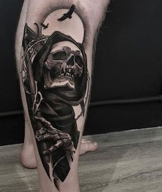 Search inspiration for a Blackwork tattoo. Emo Tattoos, Skeleton Tattoos, Bild Tattoos, Skull Tattoos, Black Tattoos, Body Art Tattoos, Sleeve Tattoos, Tattoos For Guys, Blackwork