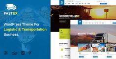 Logistics WordPress Theme | FastEx . Transport & Logistics WordPress Theme – FastEx is well-suited for Packaging & Storage, Ground Transport, Warehousing, Logistics Service, Door to Door Delivery, Cargo Service. This Logistics WordPress Theme freely provides you with premium best seller plugins: Visual Composer – an outstanding page