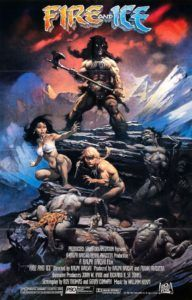 B-Movie Bunker Episode 378:  Fire and Ice (1983) - http://www.guyinabunker.com/2017/05/19/b-movie-bunker-episode-378-fire-and-ice-1983/