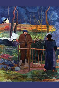 Good Day Mr. Gauguin, by Paul Gauguin