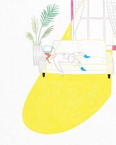 "chassammi: "" 오후의 햇살 - 쉬는 그림 #illustagram #illustration #illust #drawing #draw #artwork #digitalart #photoshop #sunlight #sunshine #nap #relax #relaxing #peace #serenity #healing #일러스트 #일러스트레이션 #그림 #낮잠 #햇살 #오후 #여유 #휴식 #힐링 #쉼 #쉬는시간 #쉬는그림 #イラスト """