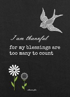 5 x 7 Blessings printable, 4 colors to choose from