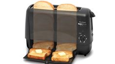 We're on the cutting edge of toast! Our Quick Serve Toaster serves it up in 90 seconds!