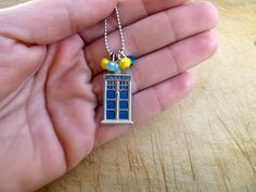 Dr Who Tardis Necklace