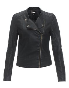 Kardashian Faux Leather Biker Jacket