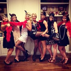 Great Gatsby Theme Party!