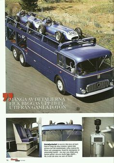 1960 Fiat Bartoletti 3 by Brimen Cool Trucks, Big Trucks, Classic Trucks, Classic Cars, Gilles Villeneuve, Car Carrier, Classic Motors, Vintage Race Car, Camping Car