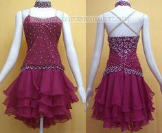 sexy latin dancing clothes,Inexpensive latin competition dance costumes:LD-SG146