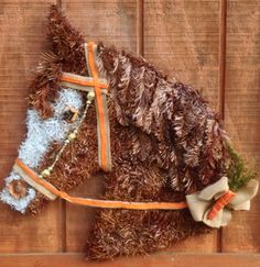 Another custom order horse head wreath. Ask me about creating a special order for you