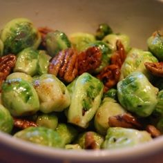 Maple-Orange Glazed Sprouts