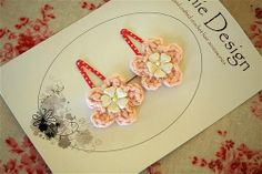 Pink hair clips | Flickr - Photo Sharing!