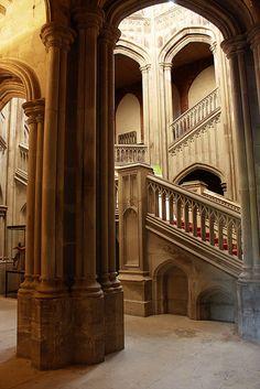 Stairwell, Margam Castle   Flickr - Photo Sharing!