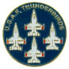 """United States Air Force Thunderbirds Logo Pin 1"""" by FindingKing. $8.99. This is a new United States Air Force Thunderbirds Logo Pin 1"""""""
