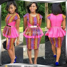 VISIT FOR MORE Beautiful Ankara Skirt and Blouse Style DeZango Fashion Zone The post Beautiful Ankara Skirt and Blouse Style DeZango Fashion Zone appeared first on Fashion. African Dresses For Women, African Attire, African Wear, African Women, African Clothes, African Beauty, Ghanaian Fashion, African Fashion, Nigerian Fashion