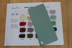 To make your own chalk paint: take the AS chalk paint sample chart to Home Depot and chose the closest shade in the Behr paint and primer in one. Chalk Paint Recipe: Plaster of Paris w/ water added at a time until smooth then add parts paint Make Chalk Paint, Chalk It Up, Milk Paint, Chalk Board, Chalk Wall, Behr Paint, Paint Stain, Paint Finishes, Paint Primer