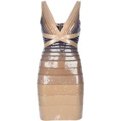 Shop for embellished dress by Herve Leger at ShopStyle. Vestido Dress, Herve Leger Dress, Designer Cocktail Dress, Fashion Beauty, Womens Fashion, Embellished Dress, Beige, Dress Me Up, Designer Dresses