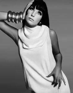 Cher - Vogue 1966  Diana Vreeland design