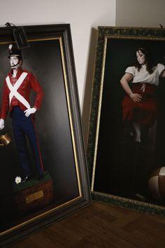"""serie """"Il favoloso mondo"""" di Aurora Giampaoli c/o Temporary Art in Lucca"""