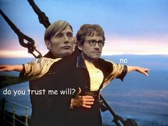 Hannibal - Cannibal puns & comic sans ~ Because even Fannibals need to smile from time to time - Page 4 Hannibal Meme, Hannibal Tv Series, Hannibal Lecter, Will Graham, Do You Trust Me, Hugh Dancy, Mads Mikkelsen, Comic Sans, Puns