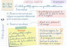 Parle en français!: Les articles partitifs