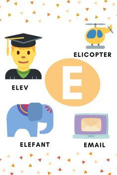 Educational Activities, Learning, School, Fun, Kids, Tudor, Montessori, Pictures, Alphabet