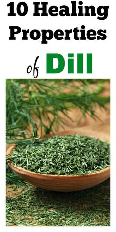 10 Healing Properties of Dill