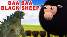 Baa Baa Black Sheep Nursery Rhyme - Dinosaur Asking Sheep For Wool - Pop...