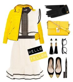 """Hello Yellow"" by vazsu ❤ liked on Polyvore featuring Dorothy Perkins, self-portrait, Dolce&Gabbana, Zara, Mulberry and Smith & Cult"