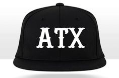 Newest line of hats from Crown Twenty! Introducing our Midnight Series, a solid black, flexfit, flatbill cap that wicks moisture and is extremely comfortable!   Texas, Longhorns, Austin, ATX