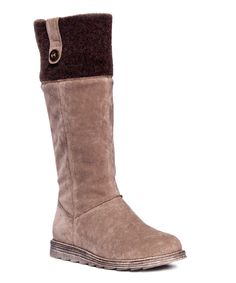 Look what I found on #zulily! Brown Alicia Boot by MUK LUKS #zulilyfinds