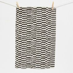 Image of tea towel | stripes