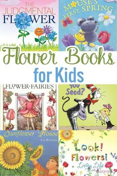 It is so much fun to celebrate each season with arts and crafts and also by reading books. In this post, we will share a list of great Flower Books for Kids that are for all ages.