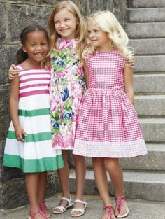 Oscar de la Renta (@OscarPRGirl) Spring Summer 2014 stripes clothing #stripes #oscardelarenta #SS14 #spring #summer #springsummer2014 #childrens #kids #childrenswear #kidswear #kidsfashion #girls #boys