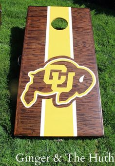 My Brother/Sister-in-law asked me to make a cornhole set for their wedding; requesting that the boards be Colorado University and University of Southern California themed. I've probably only …