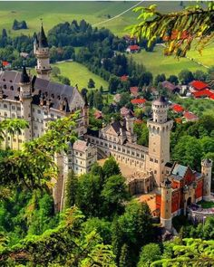 Germany is land of castles Which one is your favourite? Photos by Neuschwanstein ( Cochem ( Beautiful Castles, Beautiful Buildings, Beautiful Landscapes, Beautiful Places To Visit, Cool Places To Visit, Places To Travel, Places Around The World, Around The Worlds, Linderhof