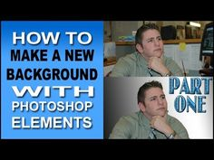 Make a New Background with Photoshop Elements
