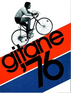 #graphic #design #poster #print #Gitane #bicycles