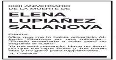 Un viudo escribe cada año a su esposa muerta en 1994 a través de las esquelas de El País