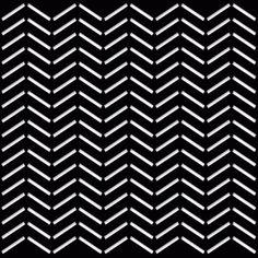 Silhouette Design Store: herringbone stencil