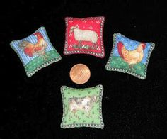 Natalia's Fine Needlework: Fabric Country Pillows