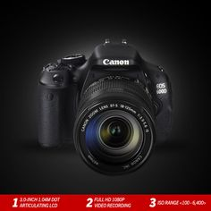 Click stunningly high quality photographs and shoot videos in Full HD with the #Canon EOS 600D with the powerful DIGIC 4 image processor: http://www.imagestore.co.in/canon-eos-600d-body-digital-slr-camera-1.html