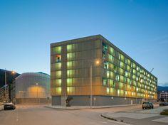 Amann.Cánova.Maruri - Social Housing in Mieres, Mieres, Spain #socialhousing #housing #residential