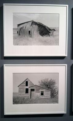 AIPAD, 3/12  - Peter Kayafas, (Top) Eastern Washington, 2009.  (Bottom) South Dakota, 2012.  Sasha Wolf Gallery