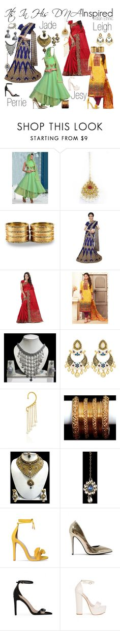 """Little Mix Indian Ethnic Inspired"" by katiehorror ❤ liked on Polyvore"