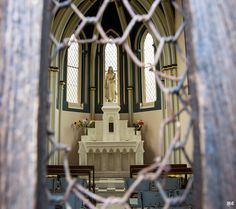Chapelle Sainte Philomène | Flickr - Photo Sharing! Photo taken through fence.